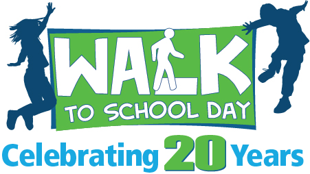 Walk to School Day is Ocotber 5th!